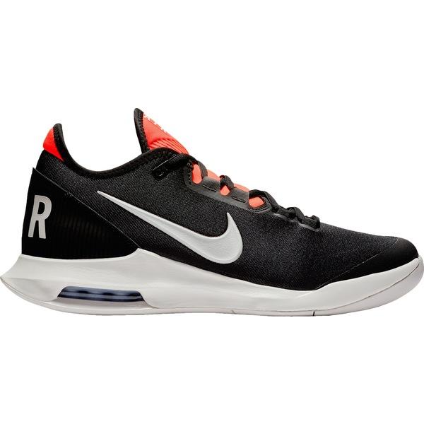 ナイキ メンズ テニス スポーツ Nike Men's Air Max Wildcard Tennis Shoes Black/White/Red