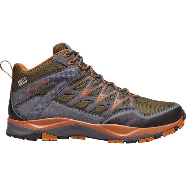 コロンビア メンズ ブーツ&レインブーツ シューズ Columbia Men's Wayfinder Mid Waterproof Hiking Boots Nori/BrightCopper