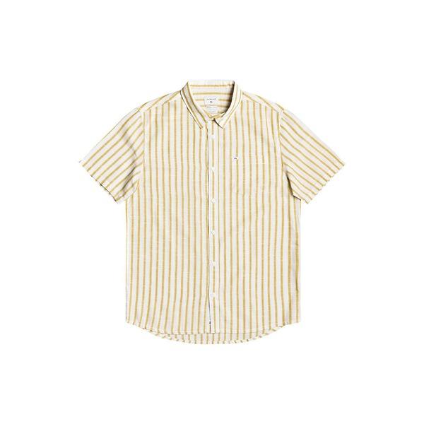 高品質 クイックシルバー メンズ シャツ トップス Men&39;s Oxford Lines Shirt Honey Brown, 公式 キプリングショップ 6c7ea346