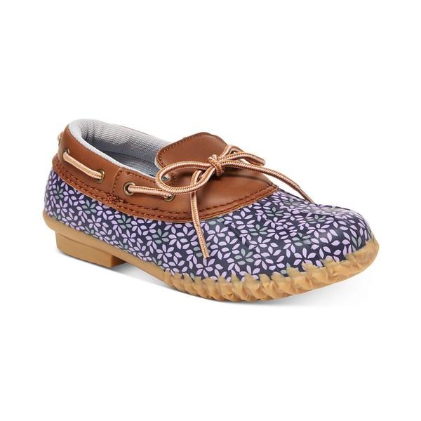 アンマーショップ ジャンブー レディース サンダル シューズ JBU by Gwen Garden-Ready Duck Shoes Navy Floral, 剣道良品館 3eafcf49