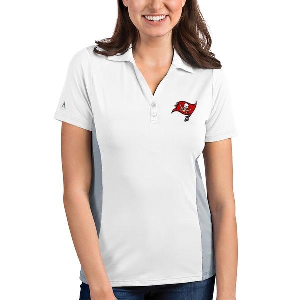 アンティグア レディース ポロシャツ トップス Tampa Bay Buccaneers Antigua Women's Venture Polo White