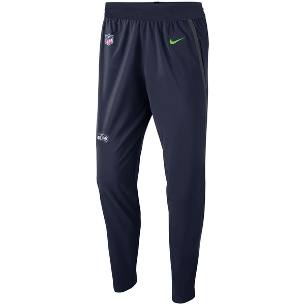 ナイキ メンズ カジュアルパンツ ボトムス Seattle Seahawks Nike Sideline Practice Pants College Navy