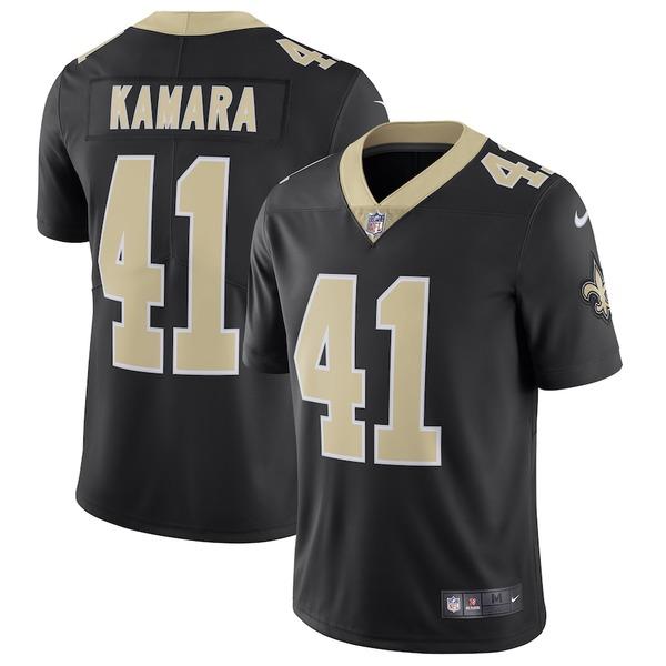 ナイキ メンズ シャツ トップス Alvin Kamara New Orleans Saints Nike Vapor Untouchable Limited Jersey Black