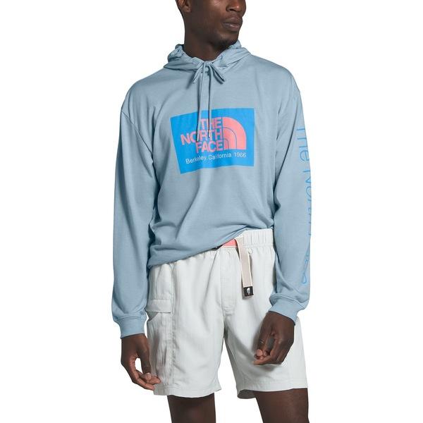 ノースフェイス メンズ ニット&セーター アウター 66 California TB Pullover Hoodie - Men's Faded Blue Heather