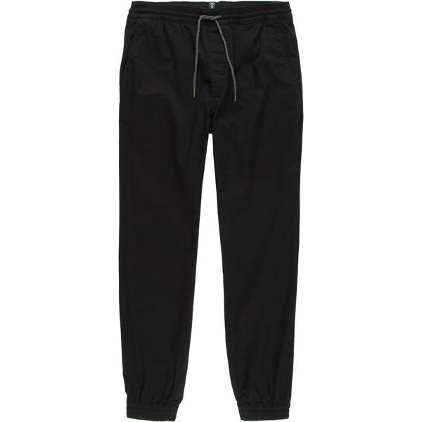 ボルコム メンズ カジュアルパンツ ボトムス Frickin Slim Jogger Pant - Men's Black