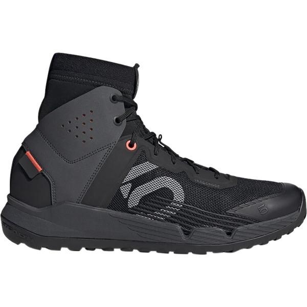ファイブテン メンズ サイクリング スポーツ Trailcross Mid Pro Mountain Bike Shoe - Men's Black/Grey Two/Solar Red