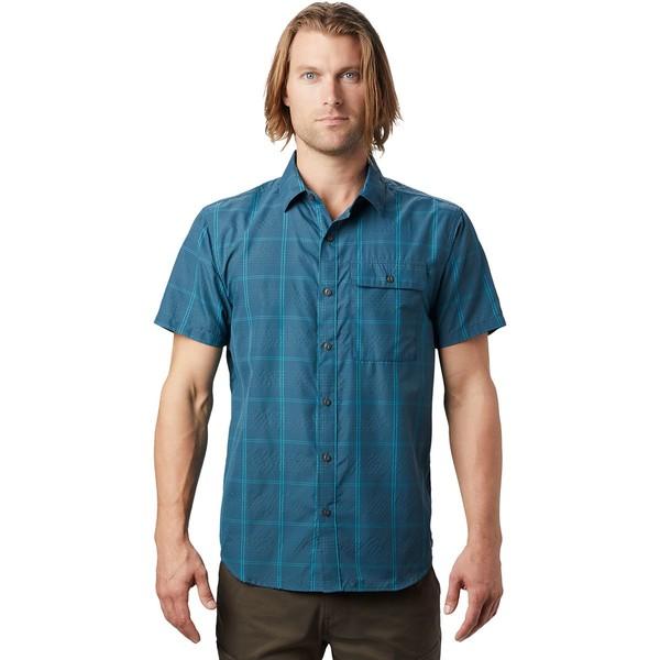 マウンテンハードウェア メンズ シャツ トップス Greenstone Short-Sleeve Shirt - Men's Field Scatter Dot Print