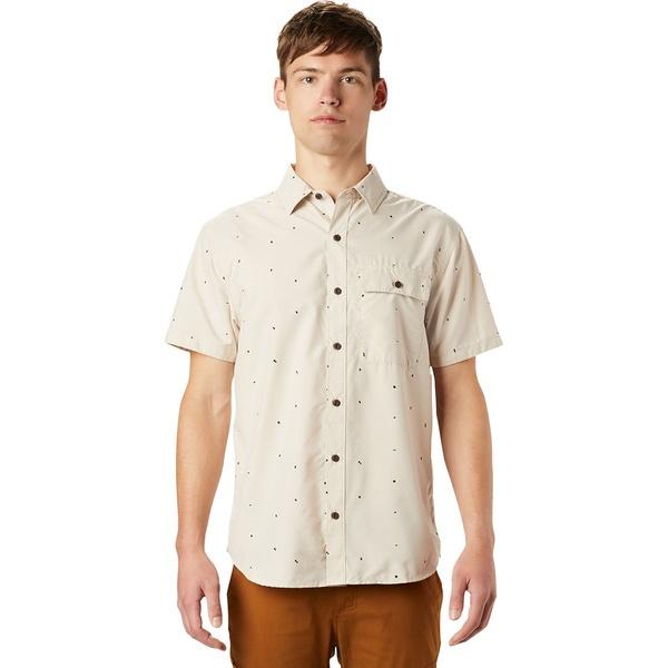 マウンテンハードウェア メンズ シャツ トップス Greenstone Short-Sleeve Shirt - Men's Lightlands Scatter Dot Print
