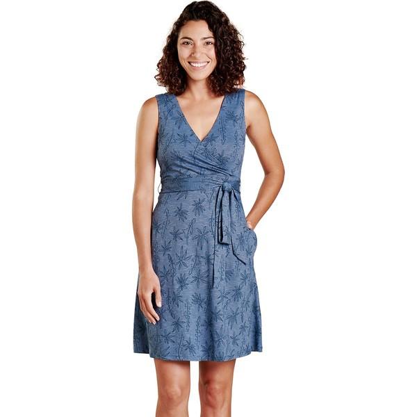 ドード アンドコー レディース ワンピース トップス Cue Wrap Sleeveless Dress - Women's High Tide Airy Floral Print
