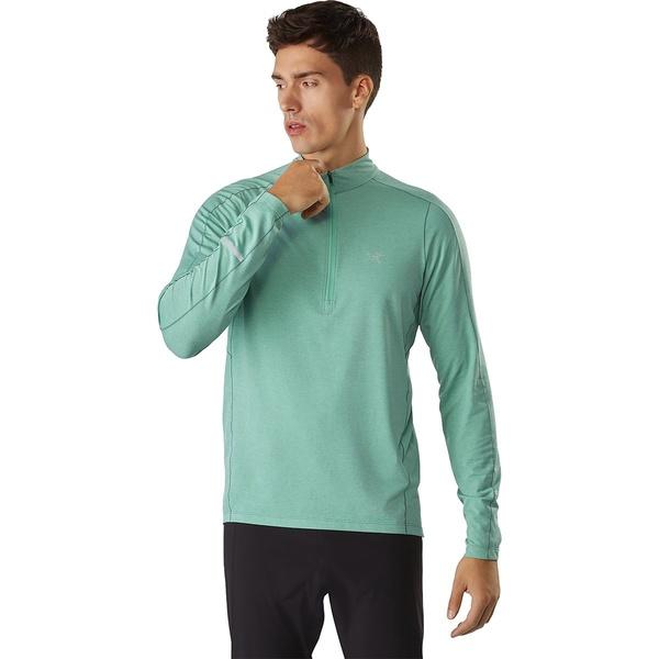 アークテリクス メンズ シャツ トップス Cormac Zip-Neck Long-Sleeve Shirt - Men's Kepler
