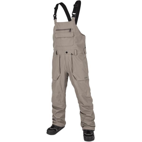 ボルコム メンズ カジュアルパンツ ボトムス Roan Bib Overall Pant - Men's Teak
