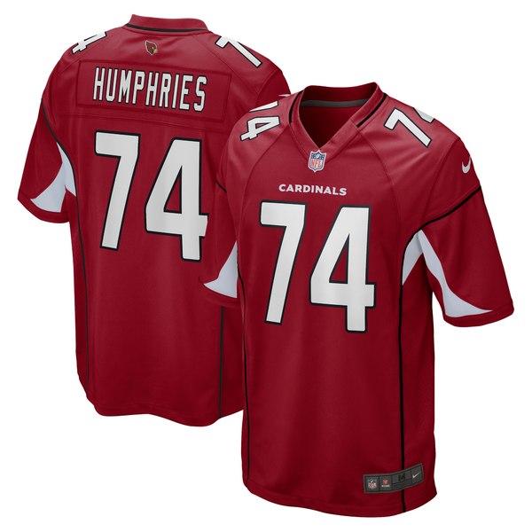 ナイキ メンズ ユニフォーム トップス D.J. Humphries Arizona Cardinals Nike Game Jersey Cardinal