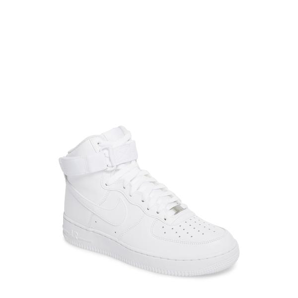 ナイキ メンズ スニーカー シューズ Air Force 1 High '07 Sneaker White/ White
