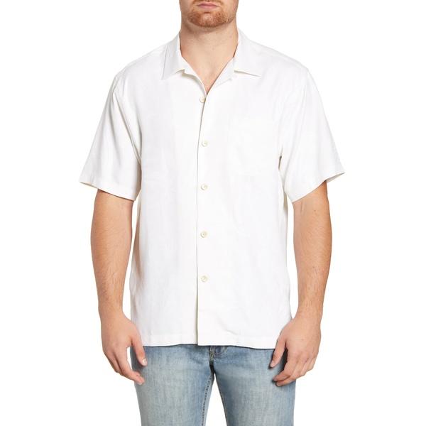 トッミーバハマ メンズ シャツ トップス Al Fresco Tropics Classic Fit Silk Shirt Continental