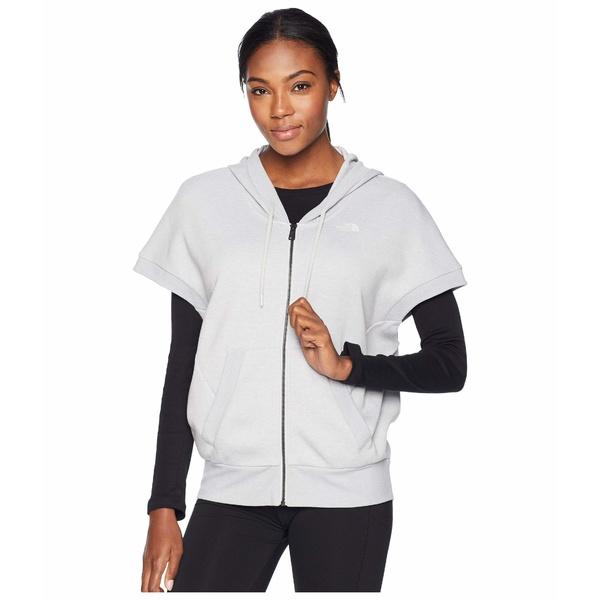 ノースフェイス レディース パーカー・スウェットシャツ アウター Train N Logo Short Sleeve Sweatshirt TNF Light Grey Heather