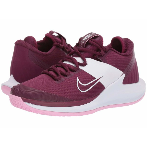 ナイキ レディース スニーカー シューズ Court Air Zoom Zero HC Bordeaux/Bordeaux/Pink Rise/White