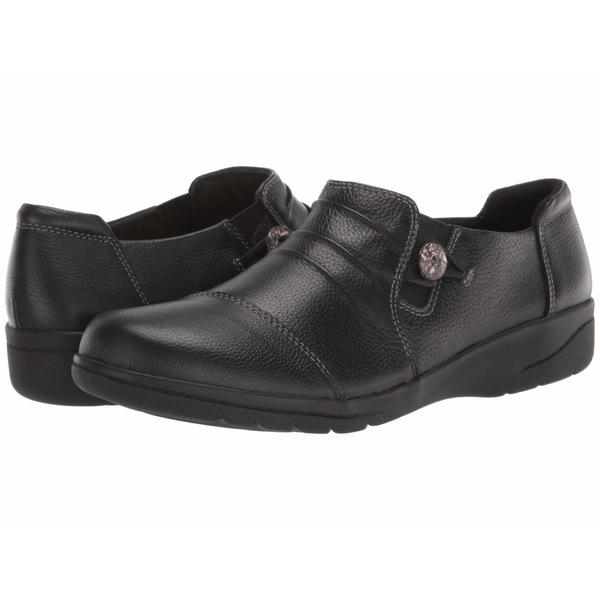 クラークス レディース スリッポン・ローファー シューズ Cheyn Inca Black Leather