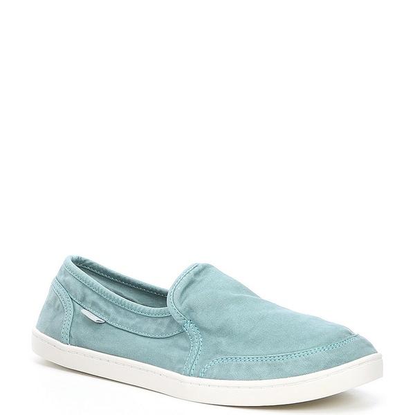 サヌーク レディース スニーカー シューズ Pair O Dice Canvas Slip-On Shoes Angel Blue