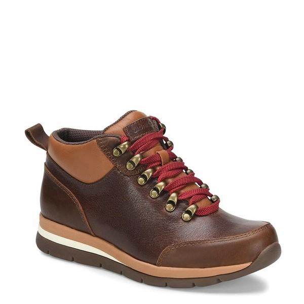 ビオニカ レディース ブーツ&レインブーツ シューズ Teton Collection Tierra Waterproof Leather & Wool Hiker Booties Bridle Brown