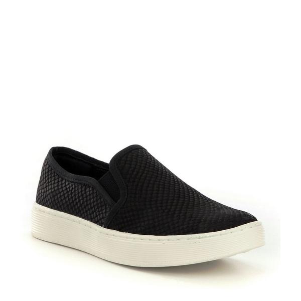 ソフト レディース スニーカー シューズ Somers Snake Print Slip-On Sneakers Black