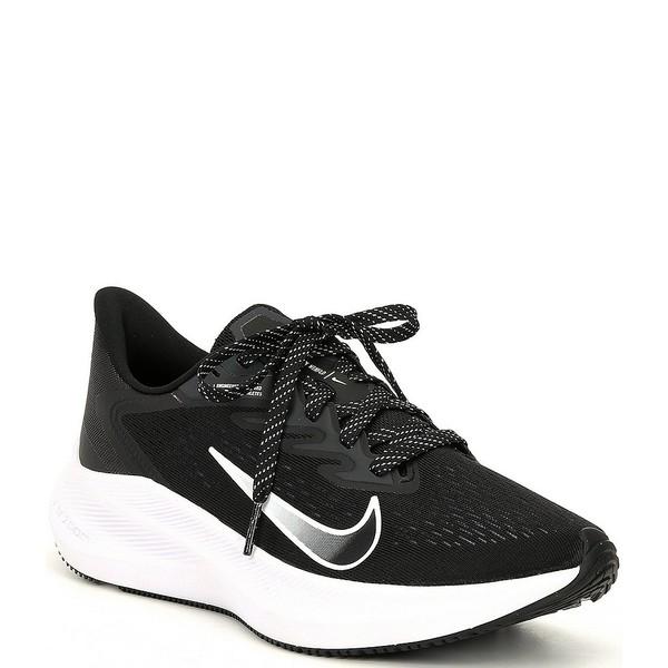 ナイキ レディース スニーカー シューズ Women's Zoom Winflo 7 Running Shoes Black/Anthracite/White