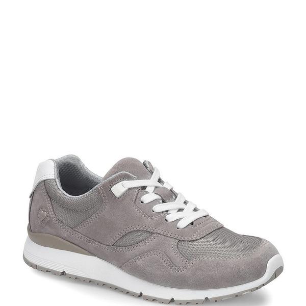 ナースメイト レディース スニーカー シューズ Boise Suede Sneakers Light Grey