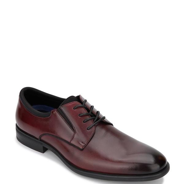 ケネスコール メンズ ドレスシューズ シューズ Men's Edge Flex Lace Up Plain Toe Oxfords Bordeaux
