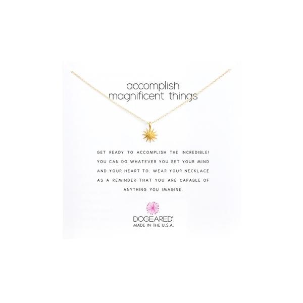 ドジャード レディース ネックレス・チョーカー・ペンダントトップ アクセサリー Accomplish Magnificent Things Necklace 16