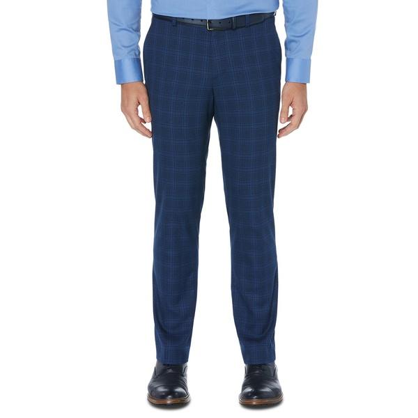 ペリーエリス メンズ ボトムス カジュアルパンツ Estate Blue 全商品無料サイズ交換 Perry Slim-Fit Stretch Portfolio Men's Pants Ellis 永遠の定番モデル 商品 Dress