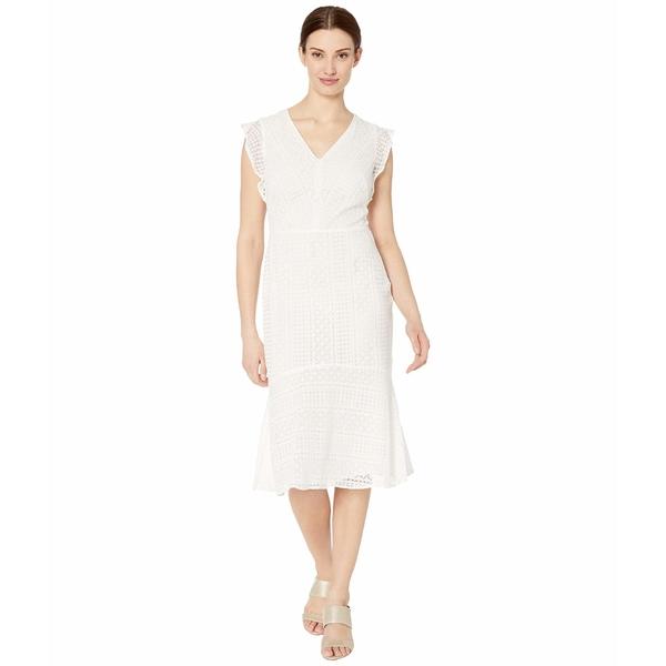 ラルフローレン レディース ワンピース トップス Celia Cap Sleeve Day Dress Matte Ivory