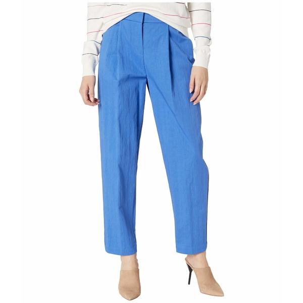 ジェイソンウー レディース カジュアルパンツ ボトムス Front Pleat Tappered Pants Egyptian Blue