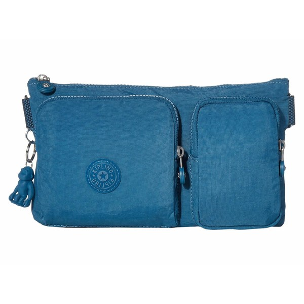 キプリング レディース ボディバッグ・ウエストポーチ バッグ Presto Up Waistpack Mystic Blue