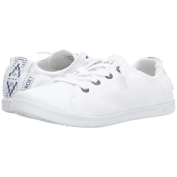 ロキシー レディース スニーカー シューズ Bayshore III White