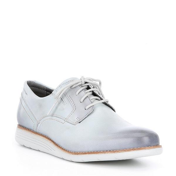 ロックポート Grey メンズ Men's ドレスシューズ シューズ Men's Total Plain Motion Sport Dress 4-eye Plain Toe Oxford Light Grey, フワグン:7fdb147f --- wap.assoalhopelvico.com
