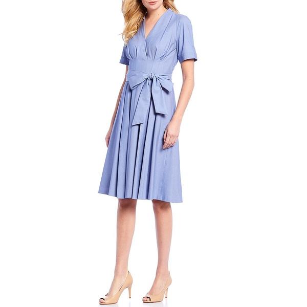 アントニオメラニー レディース トップス ワンピース Granite トップス Jade Tie Waist A-Line Tie Dress Blue Granite, 曲げわっぱと漆器 みよし漆器本舗:f50190cf --- officewill.xsrv.jp