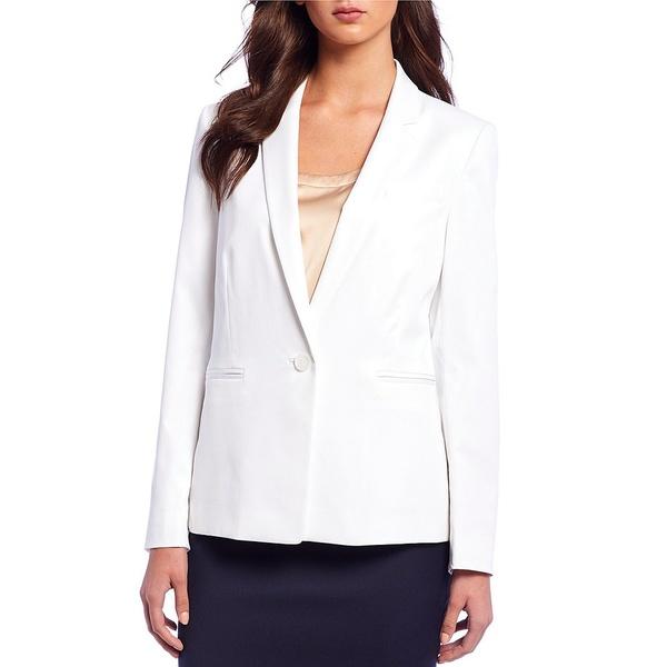 アントニオメラニー レディース ジャケット&ブルゾン アウター Nicole Twill Suiting Blazer Jacket White