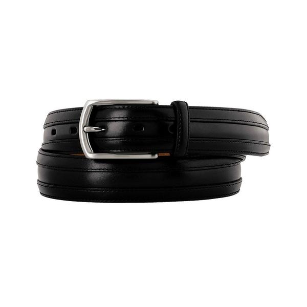 ジョンストンアンドマーフィー メンズ ベルト アクセサリー Double Calf Belt Black