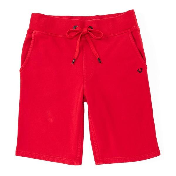 トゥルーレリジョン メンズ ハーフ&ショーツ ボトムス Classic Sweat 13#double; Inseam Shorts Ruby Red
