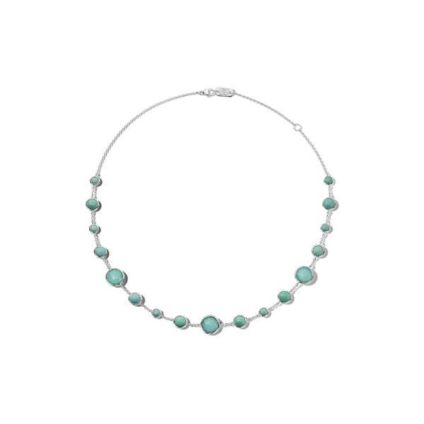 イッポリスタ レディース ネックレス・チョーカー・ペンダントトップ アクセサリー Lollipop Lollitini Necklace Silver/ Turquoise