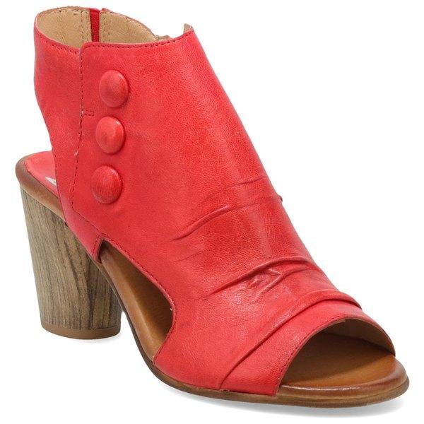 ミズムーズ レディース サンダル シューズ Miz Mooz Bella Slingback Sandal (Women) Poppy Leather