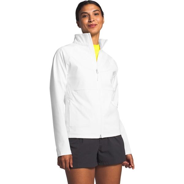 ノースフェイス レディース ジャケット&ブルゾン アウター Apex Nimble Softshell Jacket - Women's Tnf White