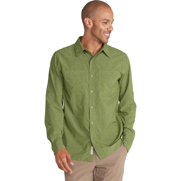 エクスオフィシオ メンズ シャツ トップス BugsAway Tiburon Long-Sleeve Shirt - Men's Alpine Green