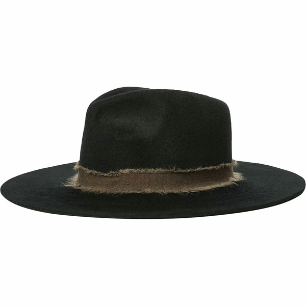 ブリクストン レディース 帽子 アクセサリー Ella Fedora - Women's Black/Brown