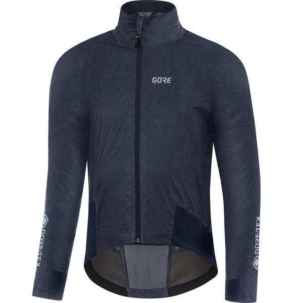 ゴアウェア メンズ サイクリング スポーツ C7 Gore-Tex ShakeDry Cancellara Stretch Jacket - Men's Storm Blue