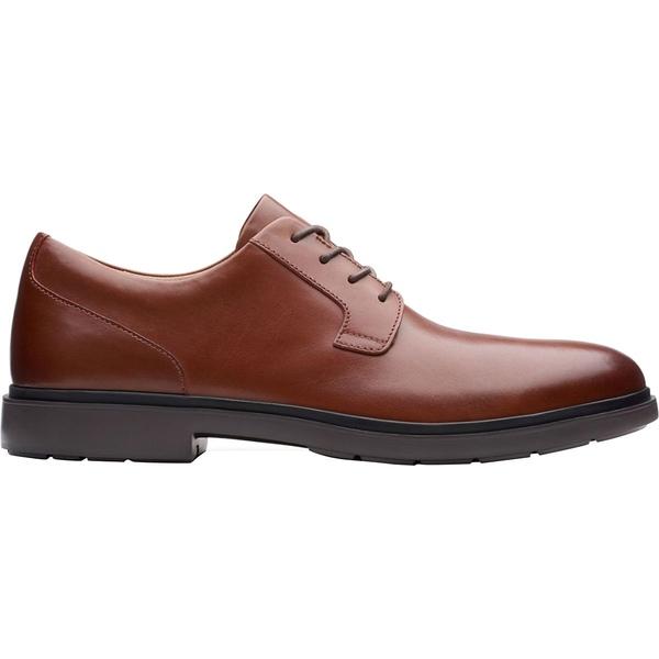 クラークス メンズ スニーカー シューズ Un Tailor Tie Shoe - Men's Tan Leather
