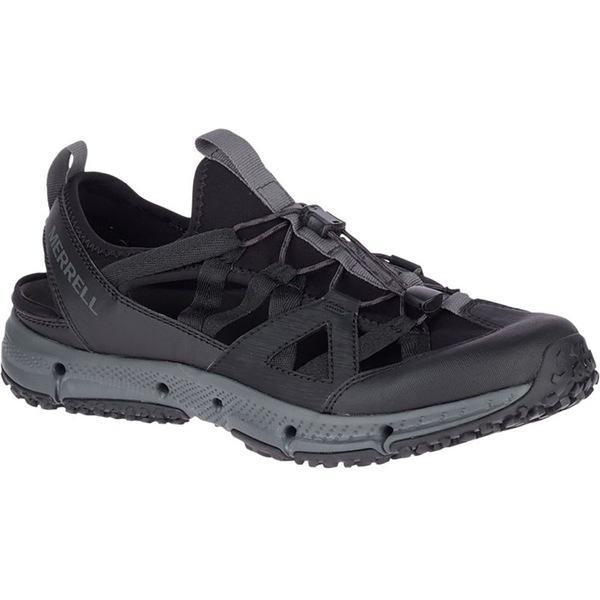 メレル メンズ ハイキング スポーツ Hydrotrekker Syn Shandal - Men's Black/Grey