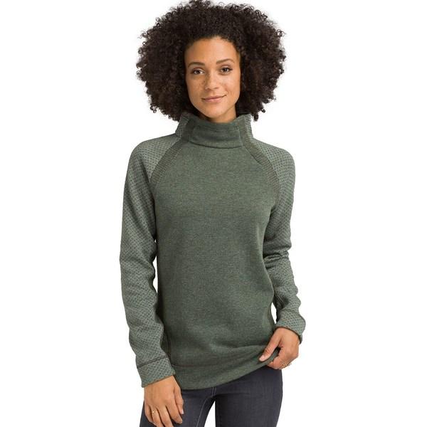 プラーナ レディース ニット&セーター アウター Brandie Sweater - Women's Rye Green Heather