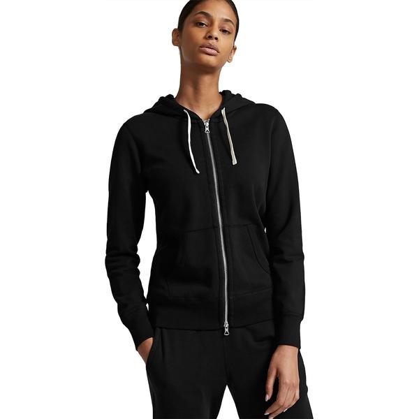 レイニングチャンプ レディース パーカー・スウェットシャツ アウター Lightweight Terry Full Zip Hoodie - Women's Black