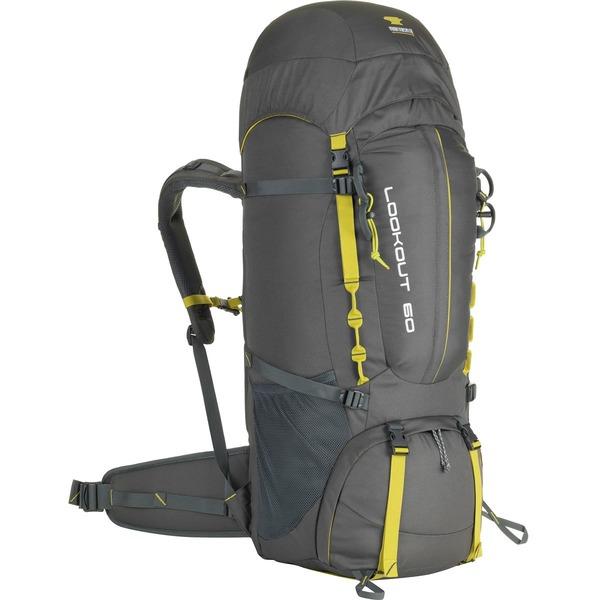 マウンテンスミス レディース バックパック・リュックサック バッグ Lookout 60L Backpack Asphalt Grey