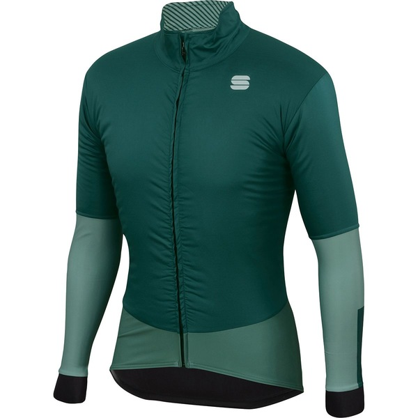スポーツフル メンズ サイクリング スポーツ Bodyfit Pro Jacket - Men's Sea Moss/Dry Green